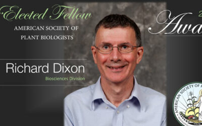 Richard Dixon Elected Fellow of the American Society of Plant Biologists